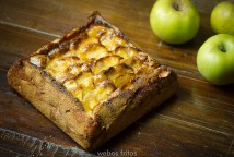 Tarta rústica de manzana