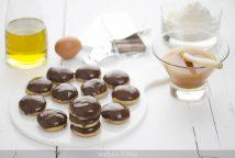 Galletas integrales de miel y chocolate con aceite de oliva virgen extra