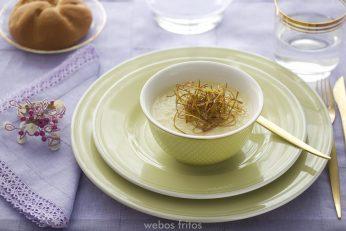 Vichysoisse (o crema de puerros)